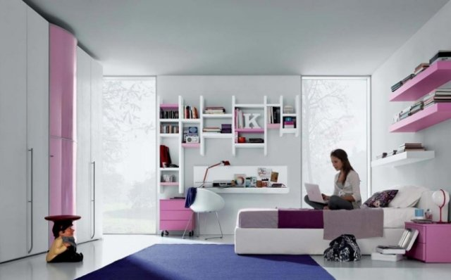 teen girl princess room