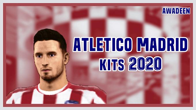Atletico Madrid 2019/2020 Kits-Dream League Soccer Kits