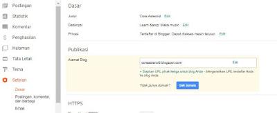 Cara Setting Domain Namecheap ke Blogger