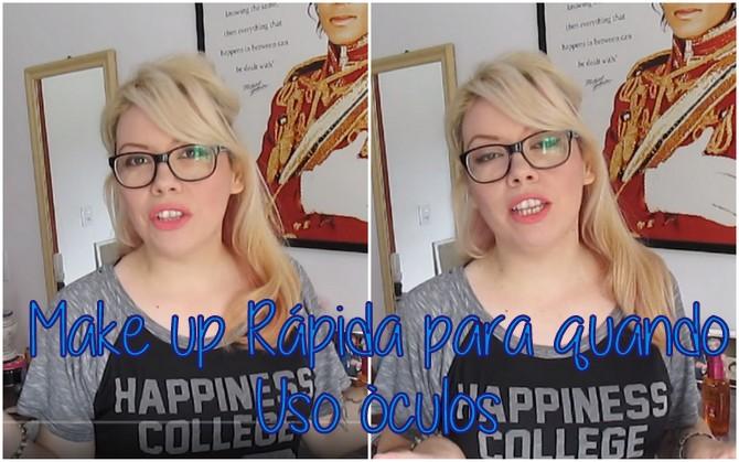 make up, make, maquiagem para quem usa óculos, maquiagem, vídeo de maquiagem, como se maquiar, que maquiagem usar quando usa óculos,