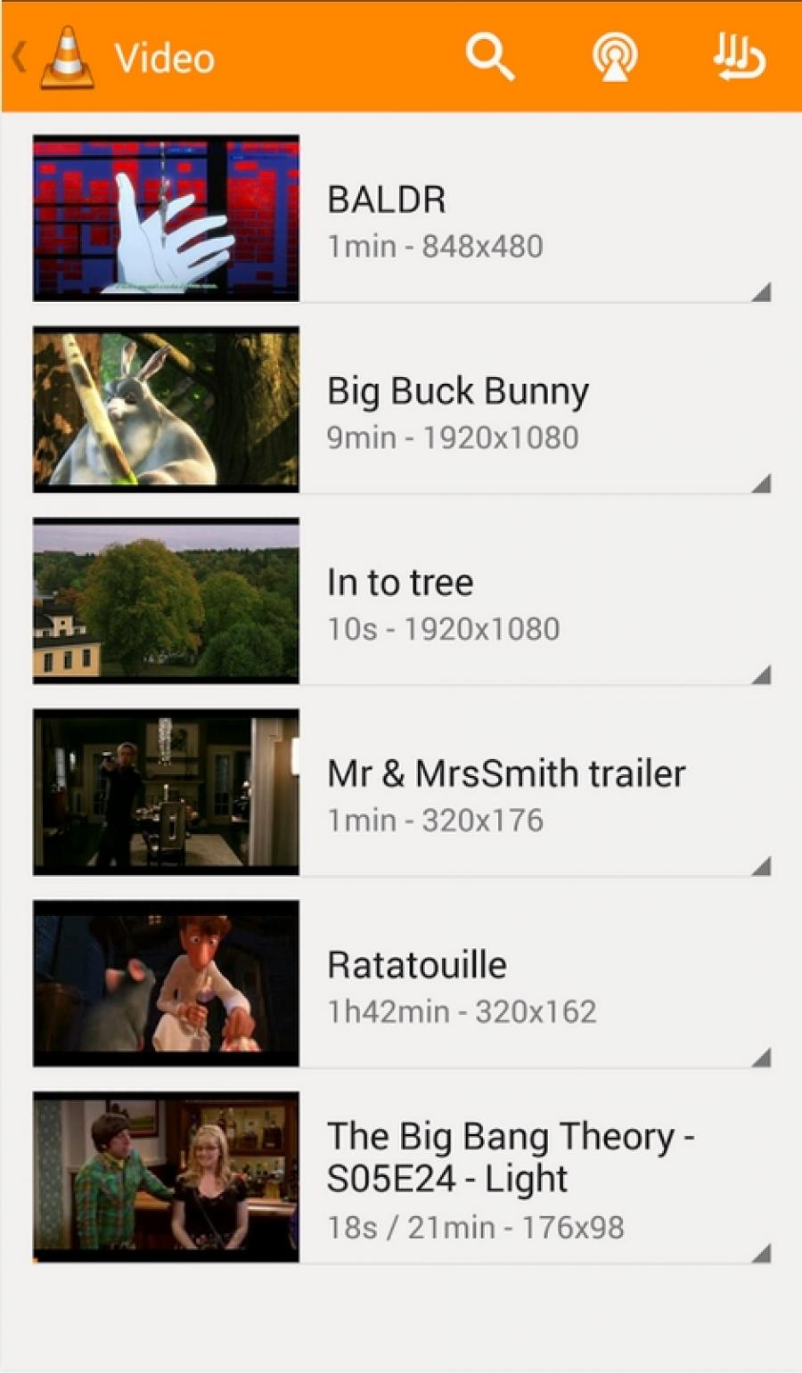 vlc pour android 2.3.5