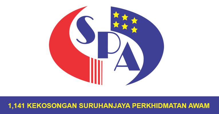 1,141 Kekosongan Terbaru di Suruhanjaya Perkhidmatan Awam SPA - Tetap & Berpencen