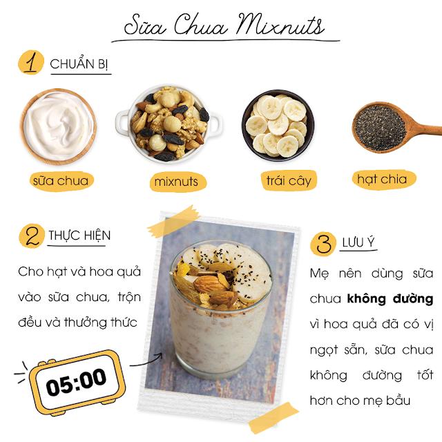 Sữa chua Mixnuts
