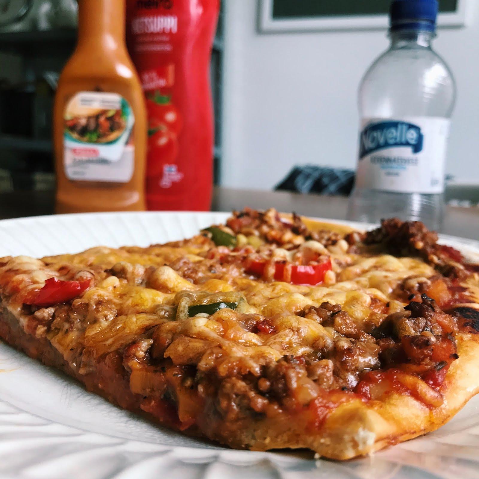 Pizzapohja Leivinjauhe