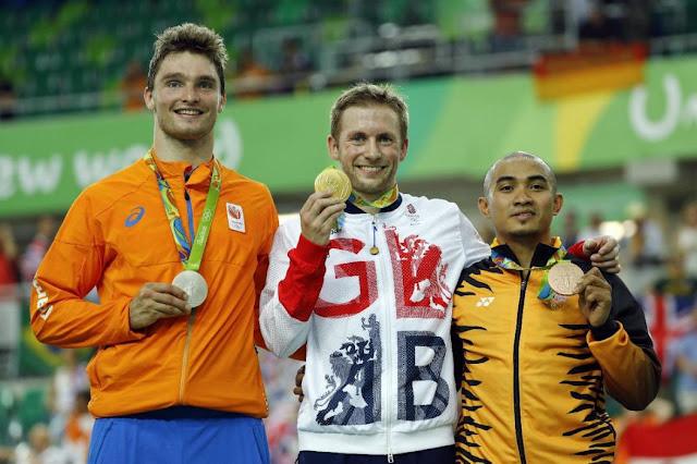 Büchli, Kenny e Awang Jogos Olímpicos de tóquio