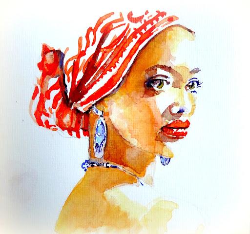 Caraïbische vrouw