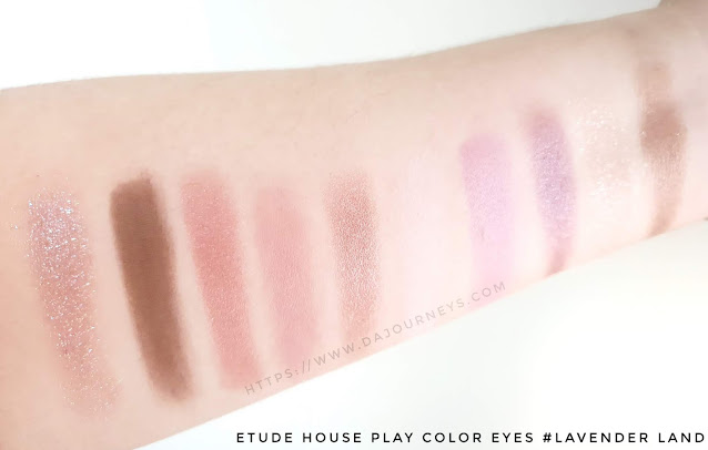 Review Etude House Play Color Eyes Palette Lavender Land