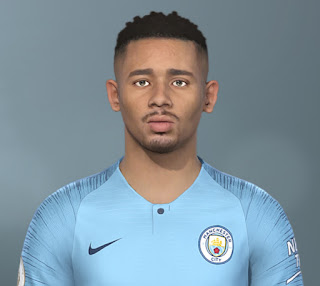 PES 2020 Faces Gabriel Jesus by The White Demon