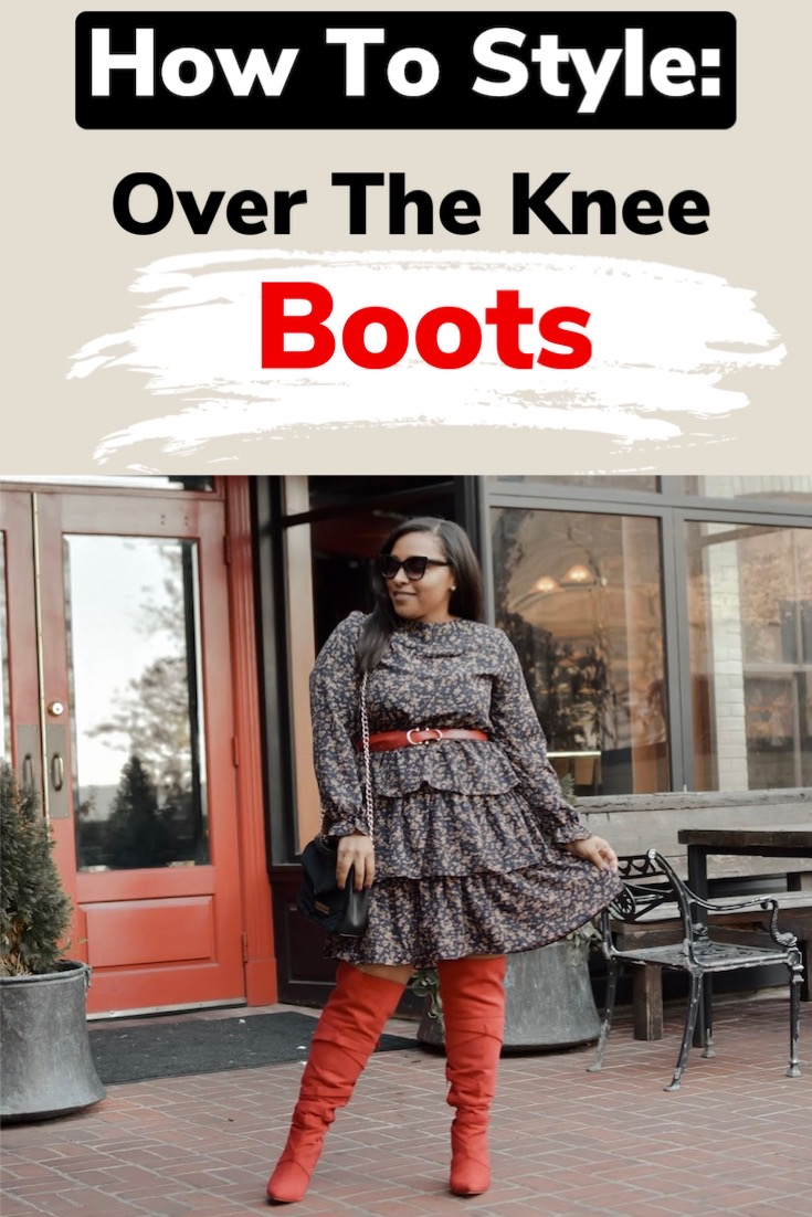 HOW TO STYLE OVER THE KNEE BOOTS FOR FALL | OUTFIT IDEAS
