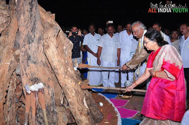 Pusapati Ashok Gajapathi Raju in Sankranthi Celebrations