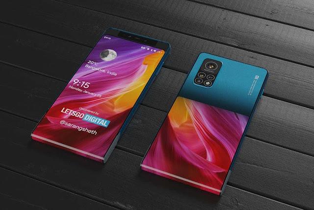 تسريب صور تظهر تصميم الإصدار القادم من هواتف شاومي MI MIX