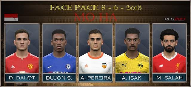 New Facepack 08-06-2018 PES 2017