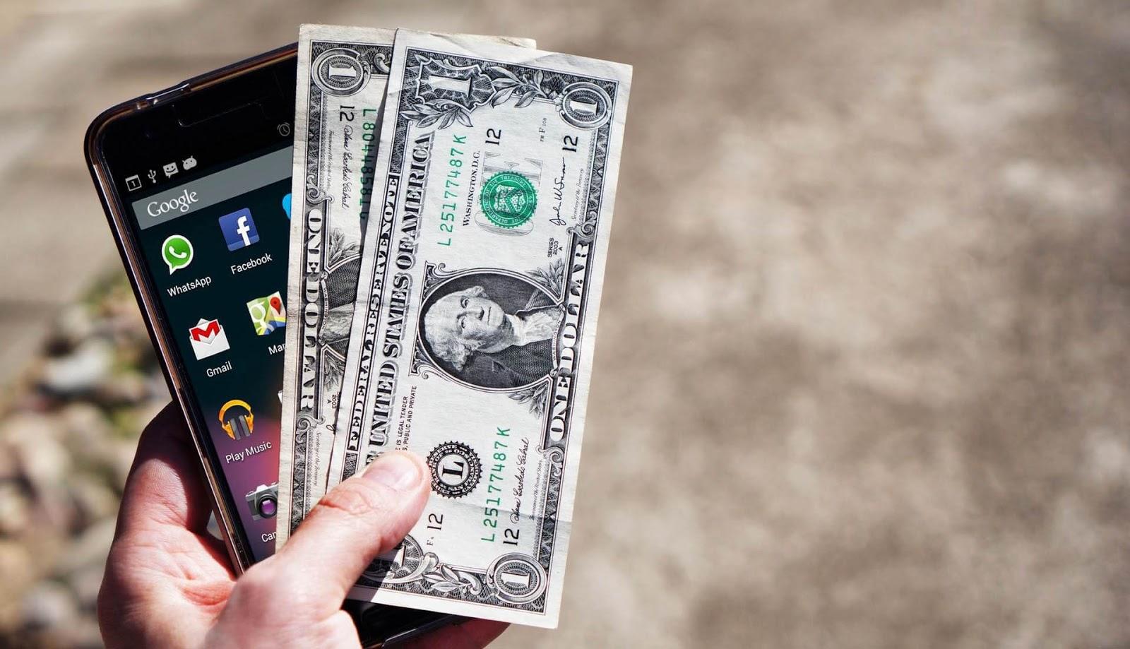 تطبيق صادق لربح المال من الهاتف 2500 نقطة=15 دولار