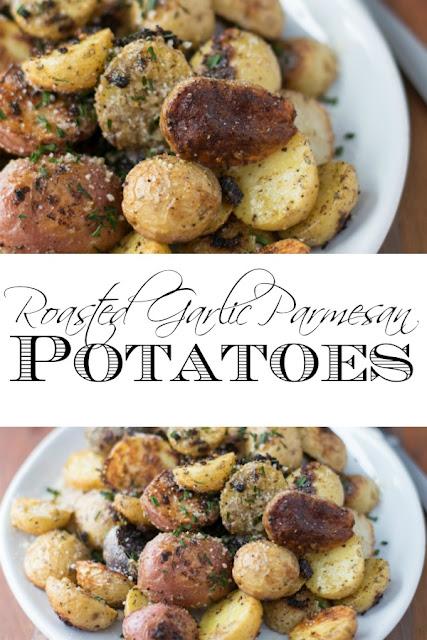Roasted-Garlic-Parmesan-Potato-Recipe