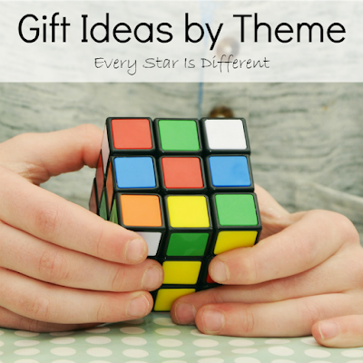 Gift ideas for children by theme