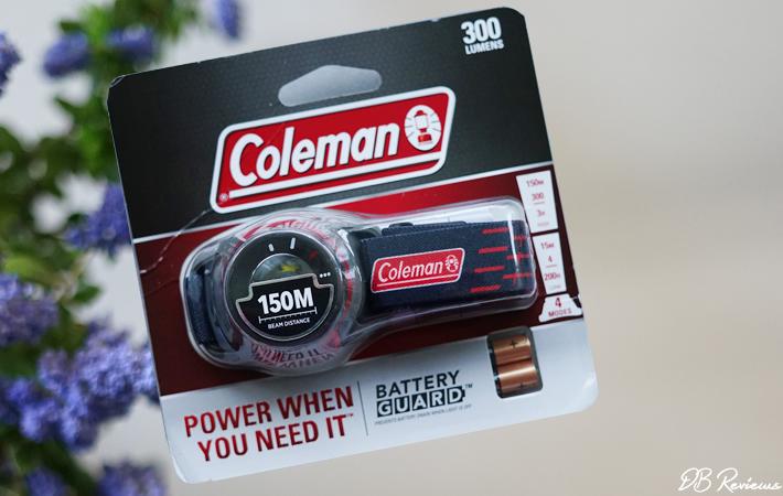 Coleman Batteryguard 300 Head Torch