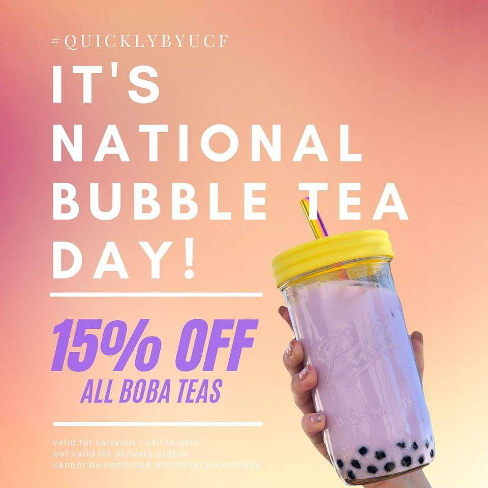 National Bubble Tea Day Wishes Awesome Picture
