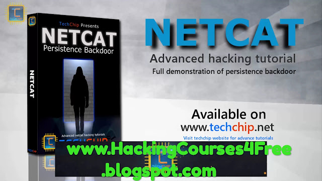 NetCat Persistence Backdoor Tutorial  Swiss Army knife of hacking tool