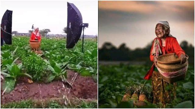 VIRAL Seorang Nenek Jago Jadi Foto Model, Hasilkan Foto Ciamik hingga Tuai Pujian Netizen