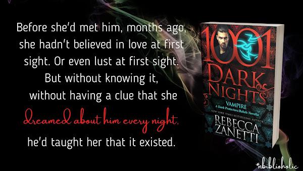 Vampire by Rebecca Zanetti quote teaser