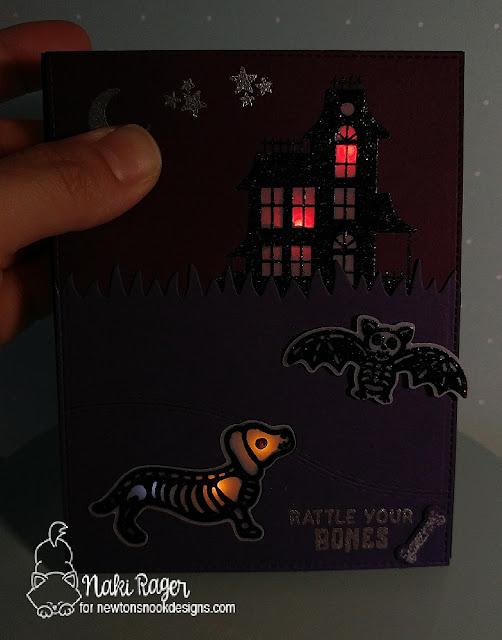 Newton's Nook Designs Spooky Silhouettes Set - Naki Rager