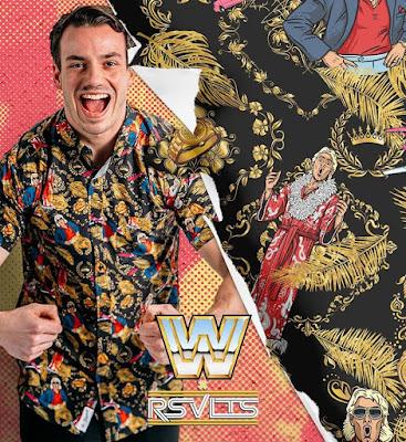 WWE x RSVLTS Retro Short Sleeve Shirt Collection