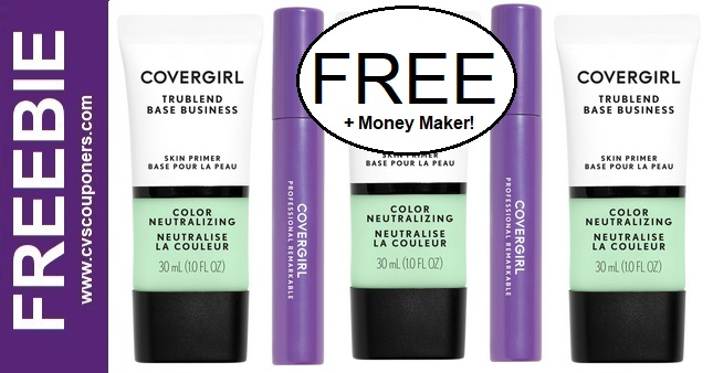 FREE CoverGirl Primer & Mascara CVS Deals