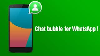 Keren, Notifikasi WhatsApp seperti Bubble FB Messenger