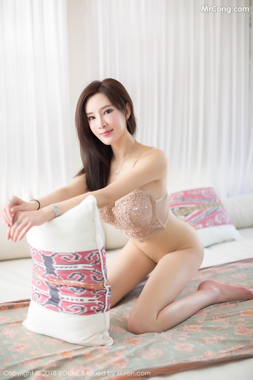 Image YouMi-Vol.197-Tu-Fei-Yuan-Ai-Cuo-Qiong-MrCong.com-001 in post YouMi Vol.197: Người mẫu 奶瓶土肥圆 (48 ảnh)