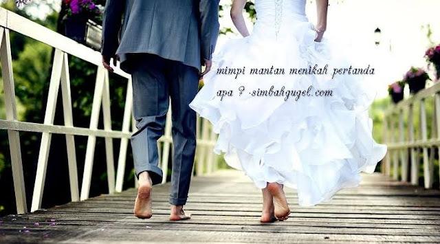 mimpi mantan menikah dengan orang lain