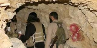 عاجل ألقبض على أكثر من 250 عنصر من داعش الأرهابي يختبئون في انفاق الموصل
