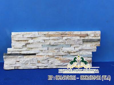 Wall Clauding Batu Alam