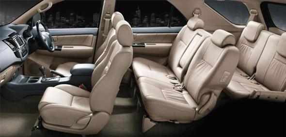 Wallpaper Car Toyota Fortuner Interior