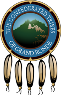 The Confederated Tribes of Grand Ronde logo