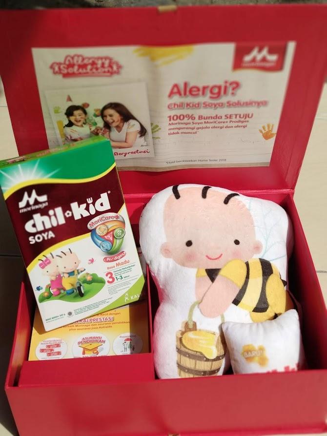 Cara Dampingi Si Kecil yang Alergi Agar Tetap Berprestasi dan Dapatkan #BekalPrestasi dari Morinaga Allergy Week
