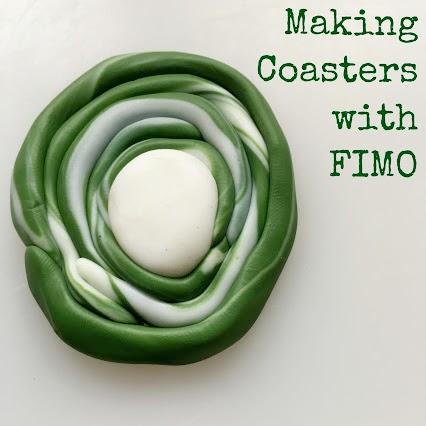 FIMO Clay Coasters