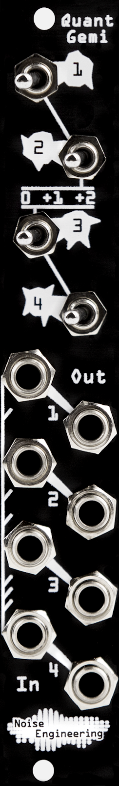 MATRIXSYNTH: Demo: Quantus Pax precision adder/transposer +