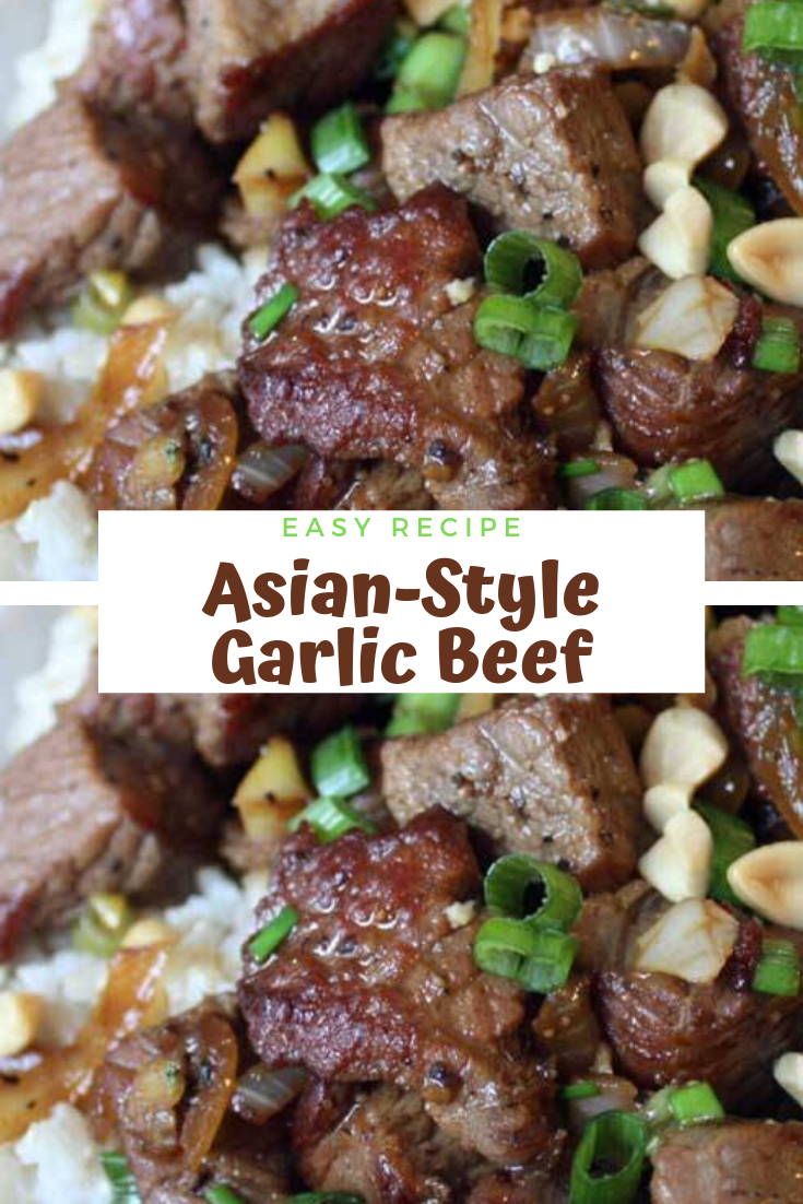 #Asian-Style #Garlic #Beef #Dinner