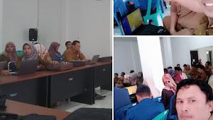 Badan Kesbangpol Ikuti Pelatihan SKP Online di BKPSDM Kota Sungai Penuh