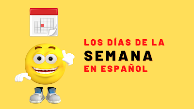 Os dias da semana em espanhol