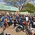 Estudantes de Educação Física bloqueiam entrada do IFCE de Juazeiro do Norte
