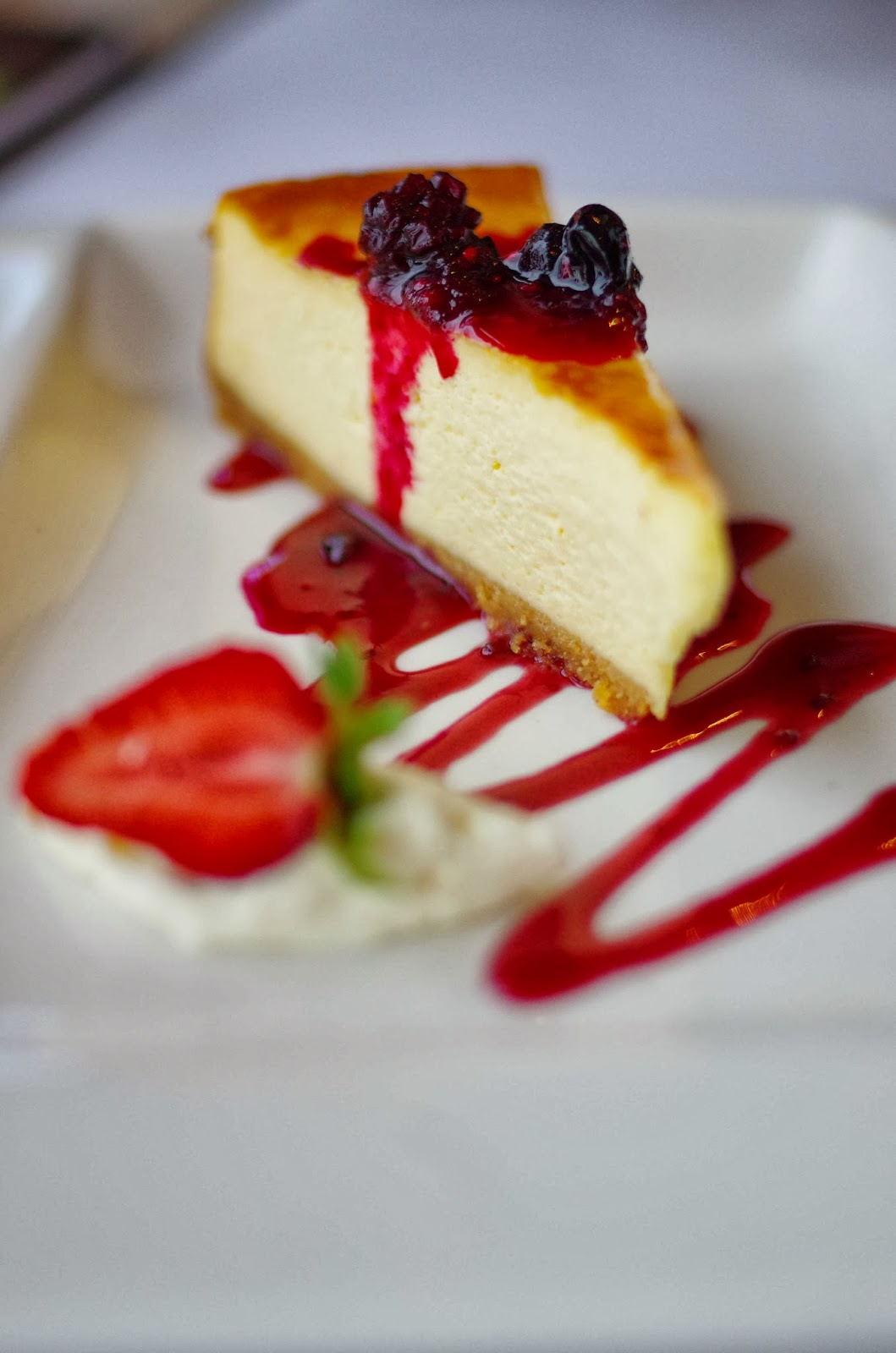 Cheesecake looks divine image