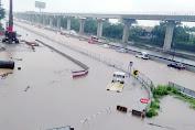 Banjir Kembali Terjadi Di Jakarta, Ini Jalan Tol Yang Bisa Dilalui