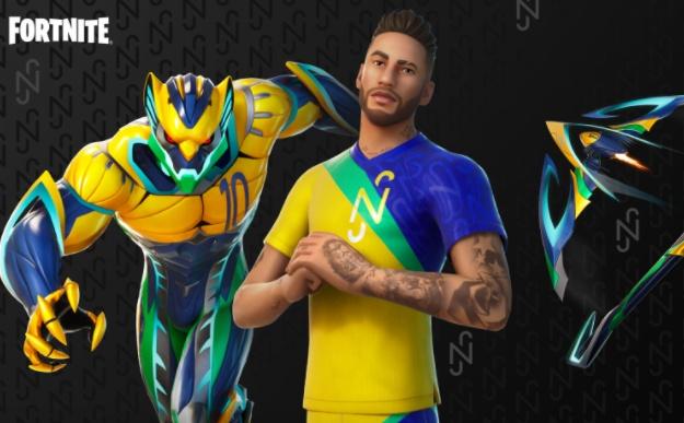 Neymar will come to Fortnite tomorrow