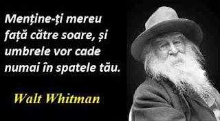 Maxima zilei: 31 mai - Walt Whitman