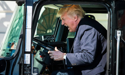 Funny Donald Trump Driving Picture
