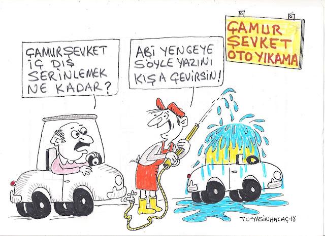 çamur şevket karikatürü
