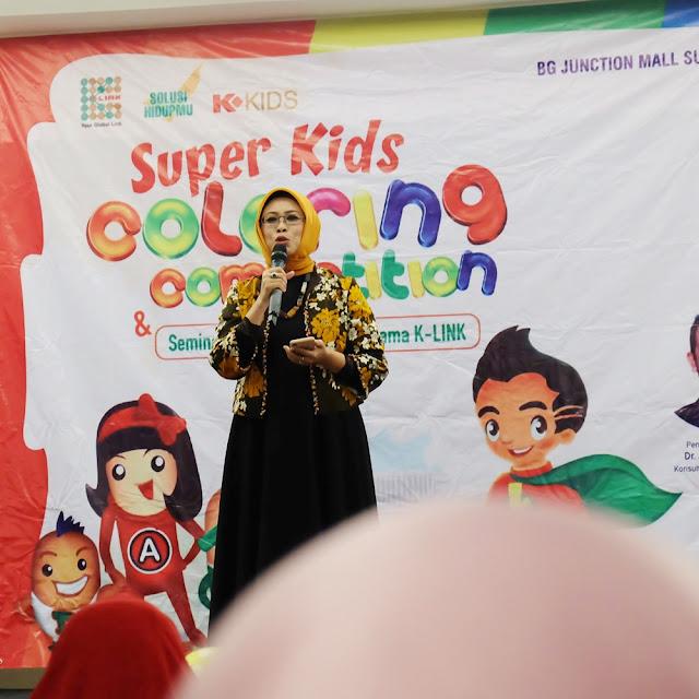 K-Link Indonesia Menyelenggarakan Seminar Kesehatan Anak dan Coloring Competition di Surabaya