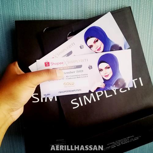 Ulasan Mini Concert Siti Nurhaliza #ShopeeXSimplisiti 2019