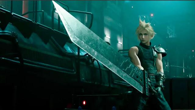 الكشف عن العرض المطول لطريقة اللعب داخل Final Fantasy VII Remake و مشاهد مليئة بالاكشن..